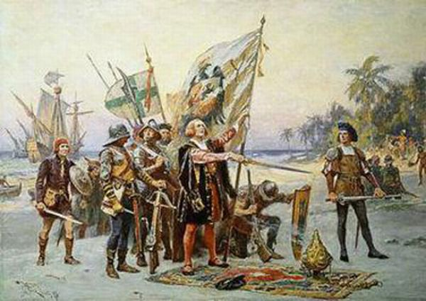 an analysis of christopher columbus in discovering the americas The african, and muslim, discovery of america  the gold trade with the americas is established through gold analysis,  christopher columbus, his life,.